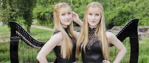 The Harp Twins will blow your mind right now!